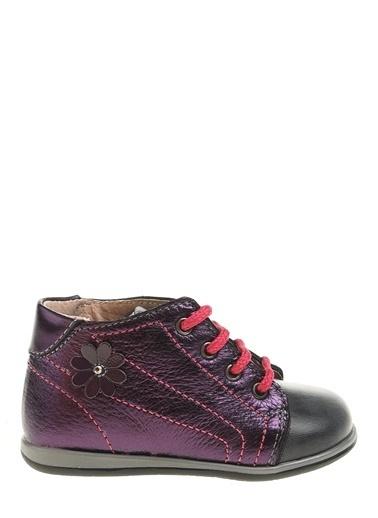 Kifidis Hakiki Deri İlk Adım Ayakkabı Mor